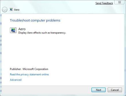 Fix and Troubleshoot Aero Transparency in Windows 7