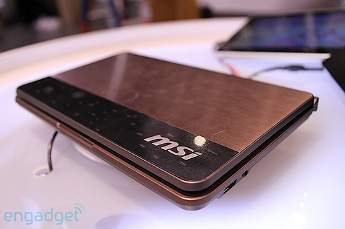 MSI Dual Touchscreen Netbook