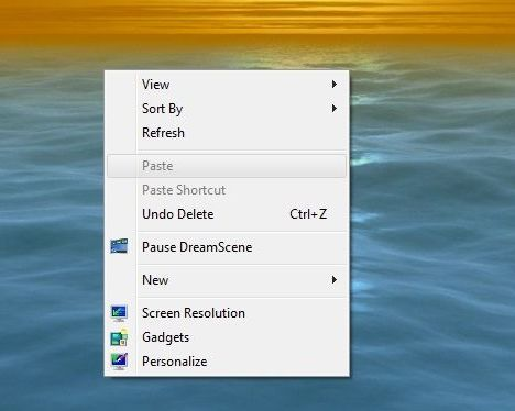 Windows 7 DreamScene Desktop Background